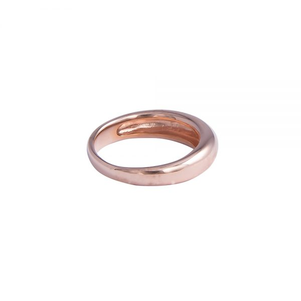 Band with Rose Gold Finish
