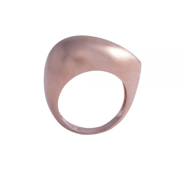 Contemporary Rose Gold Ring